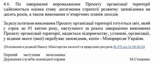 Кабмін - Полож про план організац тер Зап 2005 фрагм с8